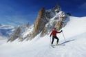 Aiguille du Midi, 3842 m.