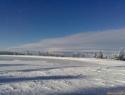 Zamrznjeno jezero.