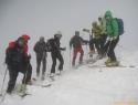 Številčna ekipa na vrhu - 2696m.