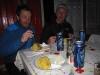 Večerja v koči Sambetei.