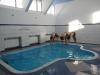 Umivanje v višinskem športnem centru Piatra Arsa (1950m).