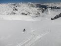 Imeli smo cel ledenik le zase.