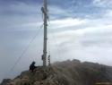 Škrlatica, 2740 m, Južni greben, IV-, III, 400 m.