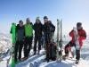 Na vrhu Brennkogla (3018m) s Hansom iz Zell am Seeja.