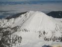 Pogled proti Ovčjem vrhu.