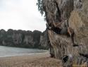 Trening prečka na Ton Sai beach.