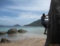 Otok Ko Tao - raj za potapljače. S plezarijo pa so začeli pred približno 10 leti.