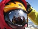 Mi 4je na vrhu Tofane di Rozes (3225m).