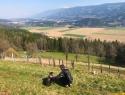 Dan 2- ob meji nad Libeličami.