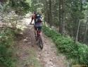Po planinski do koče na Travniku.