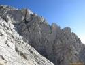 Zgornji del grebena Zeleniških špic.