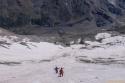 Ski pista po ledeniku.