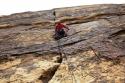 Grega - Levitation 29, 5.11c, 350m, Eagle Wall, Nevada.