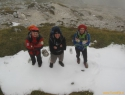 Sneg na Srebrnem sedlu.